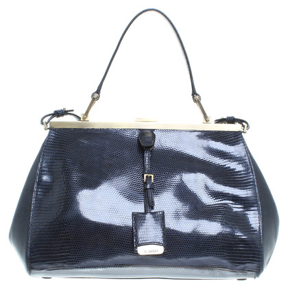 Jil Sander Reptile leather bag