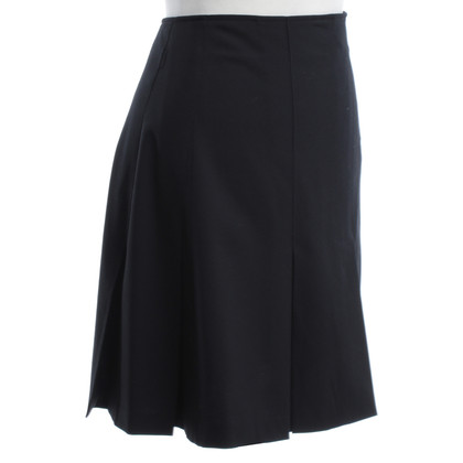Burberry Pleated skirt in black