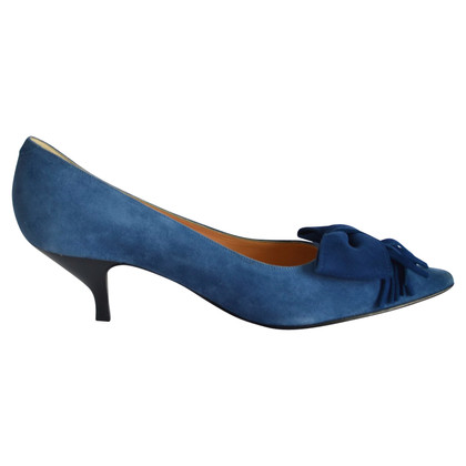 Unützer Suede Pumps in Blauw