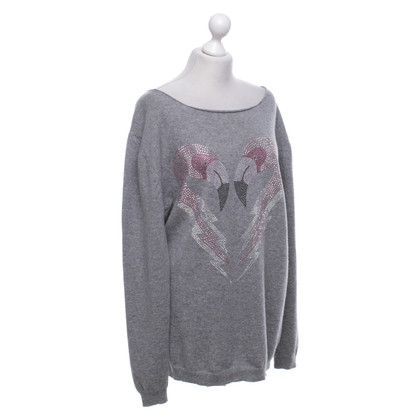 Camouflage Couture Cashmere knit sweater