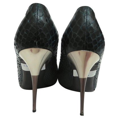 Salvatore Ferragamo Shoes as reptile leather