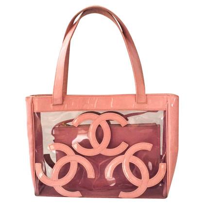 Chanel Tote borsa con emblemi CC