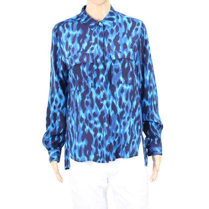Whistles Silk blouse with pattern