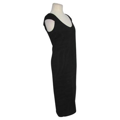 Patrizia Pepe Lange zwarte jurk