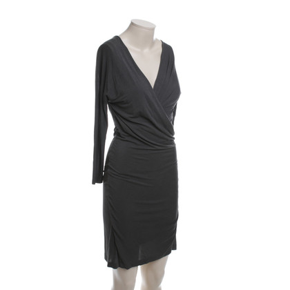 Donna Karan Wrap Dress in Taupe