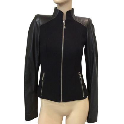 Andere Marke Steven-K - Jacke aus Leder/Wolle