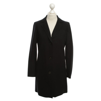 Jil Sander Wool coat in dark blue