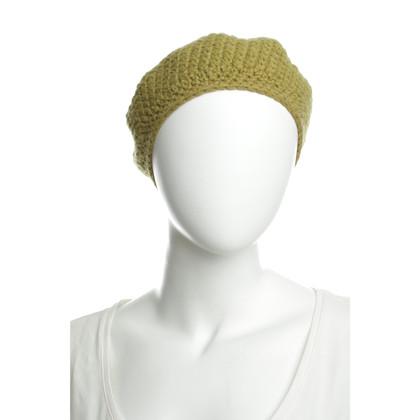 Hermès Baskenmütze aus Kaschmir