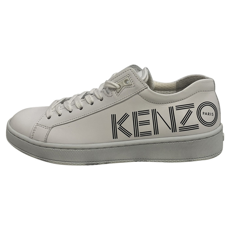 Kenzo Trainers Leather in White