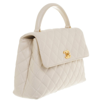 Chanel Flap Bag met handvat grip