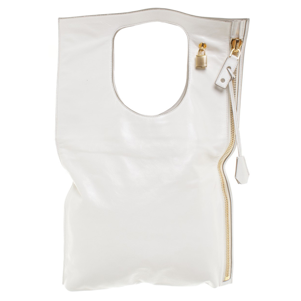 "Tom Ford ""Alix Shopper"" in White"