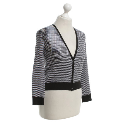 Stefanel Cardigan in black and white