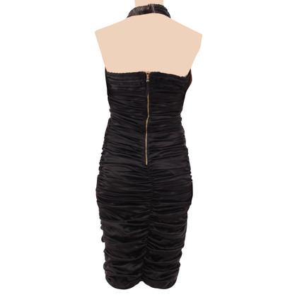 Dolce & Gabbana Silk dress with ruffles