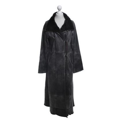 Giorgio Armani Reversible fur coat in vintage look