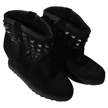 Ash Ash black boots