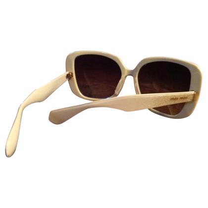 Miu Miu Sunglasses with glitter