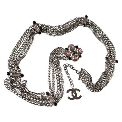 Chanel Chain belt with rhinestones