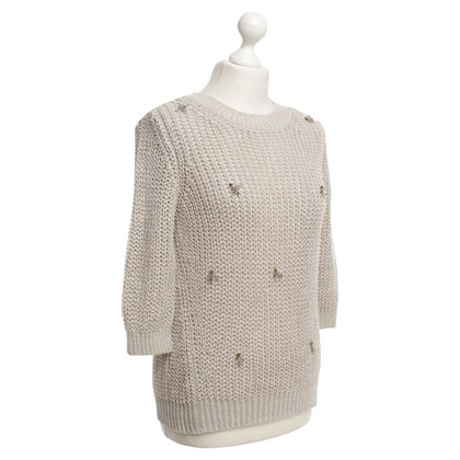 Schumacher Grobstrick sweater in beige