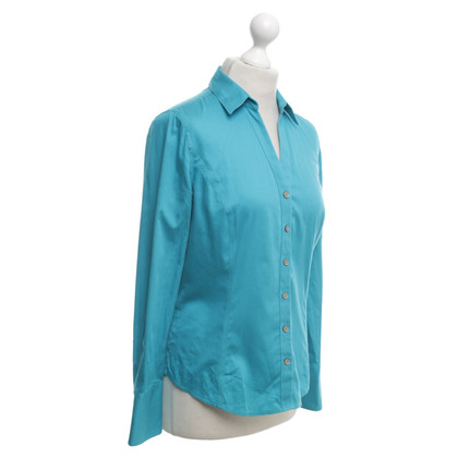 Calvin Klein Blouse in donkere turquoise