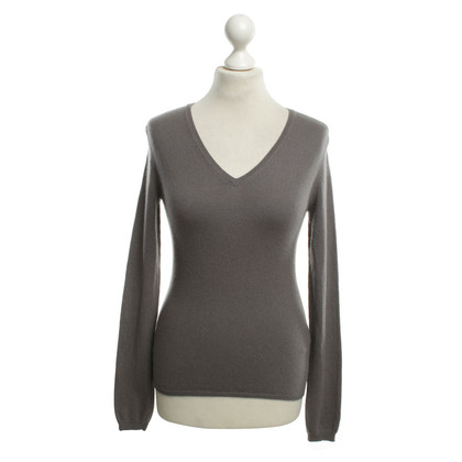 Allude Pullover in Taupe