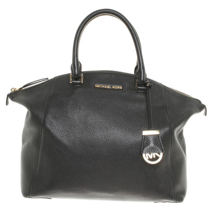 "Michael Kors ""Riley LG Satchel Black"""