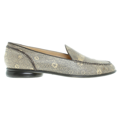 Walter Steiger Slipper lizard leather