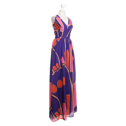 Issa Maxi evening dress made of silk