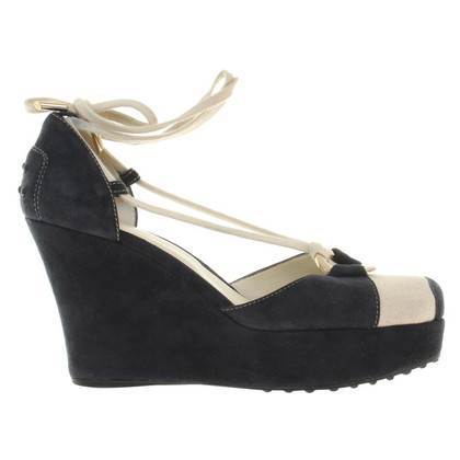 Tod's Wedges in blue