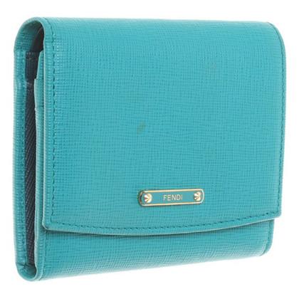 Fendi Wallet turquoise