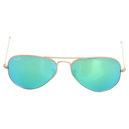 "Ray Ban Sunglasses ""Aviator"" in gold"
