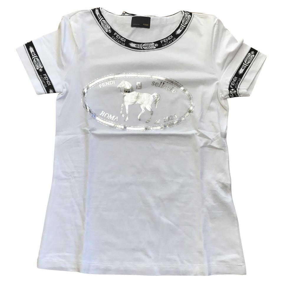 Fendi T Shirt Buy Second Hand Fendi T Shirt For