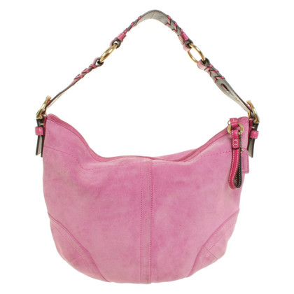 Coach Suede handbag