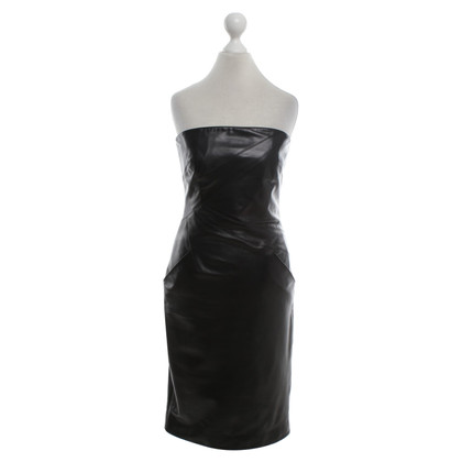 Michael Kors Black Leather Dress