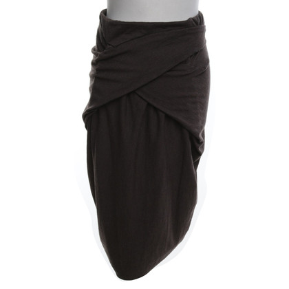 Gunex skirt in wrap-look