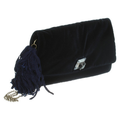 Lanvin clutch in blauw