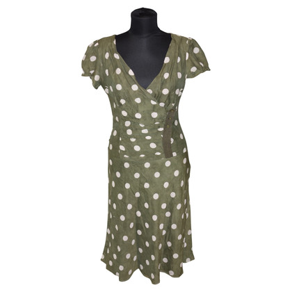 Ermanno Scervino Silk dress with dots