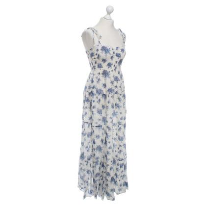 Rebecca Taylor Sommer Maxi Kleid mit Blümchen