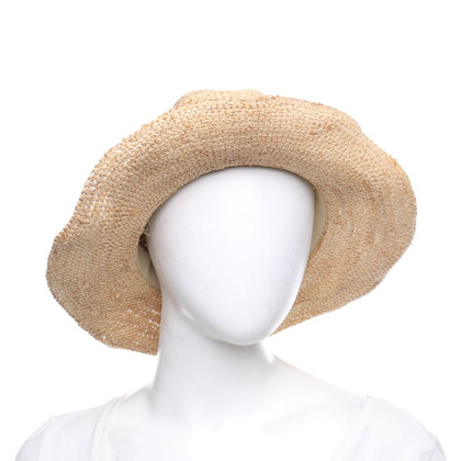 Melissa Odabash Hat with leather strap
