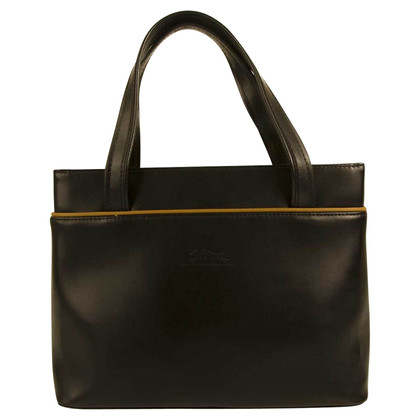 Longchamp Schwarze Tote Bag