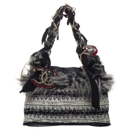 Chanel Amanti dello shopping con finitura in pelliccia Web