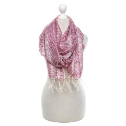 Max Mara Zijden sjaal in driekleur