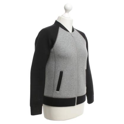 J. Crew College jacket in black / grey