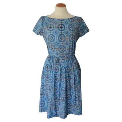 Prada Dress with blue print