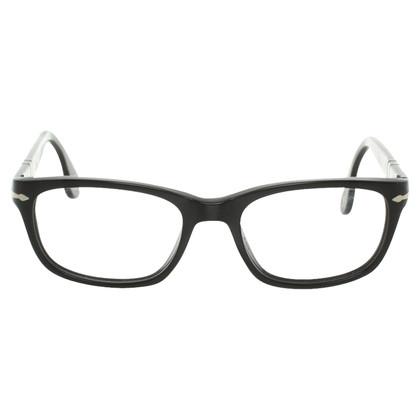 Persol Matt Black spectacles