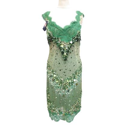 Dolce & Gabbana Paillette dress with lace