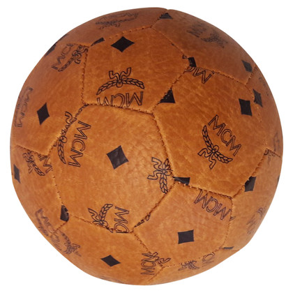 MCM Football with logo pattern