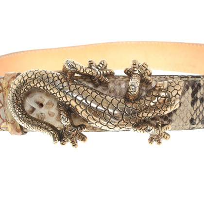 Reptile's House riem Python Leather