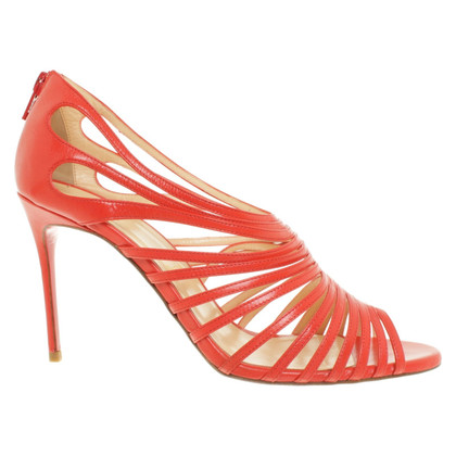 Christian Louboutin Strappy sandals in red