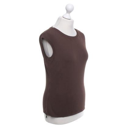 Prada Top in Brown