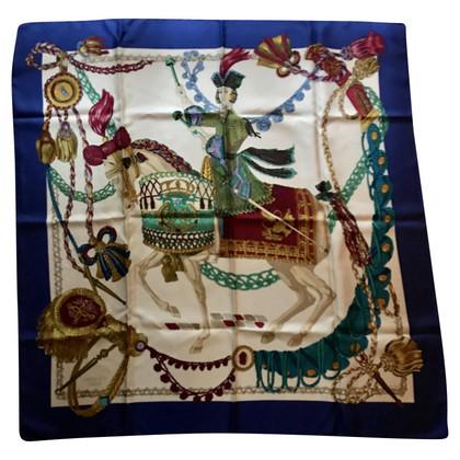 Hermès Seidentuch mit Print
